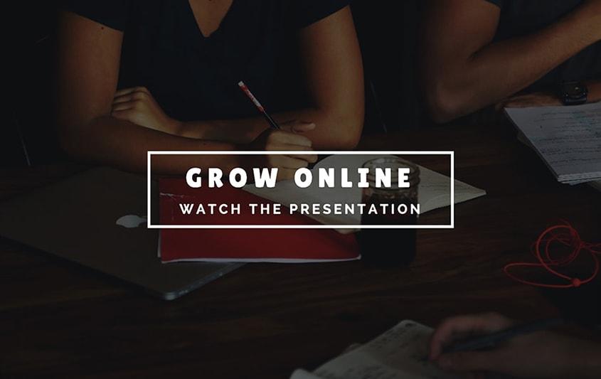 Grow Online Presentation © Giorgos Yfantis